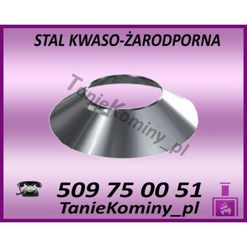 PAKIET 9.5 m KOMIN OWALNY 100x160 kwaso-żaroodporny