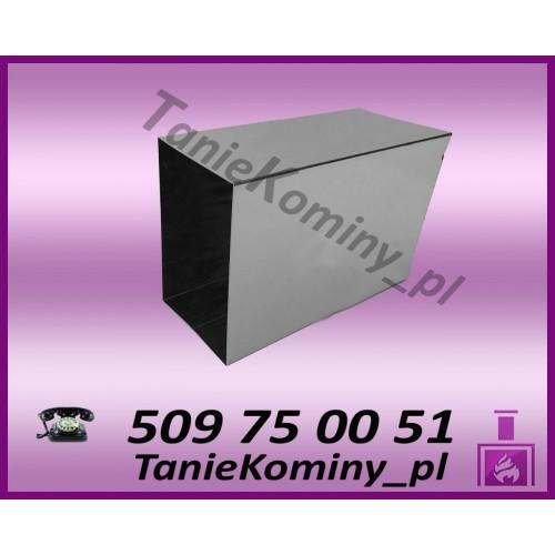 PAKIET 7.5 m KOMIN OWALNY 100x160 kwaso-żaroodporny