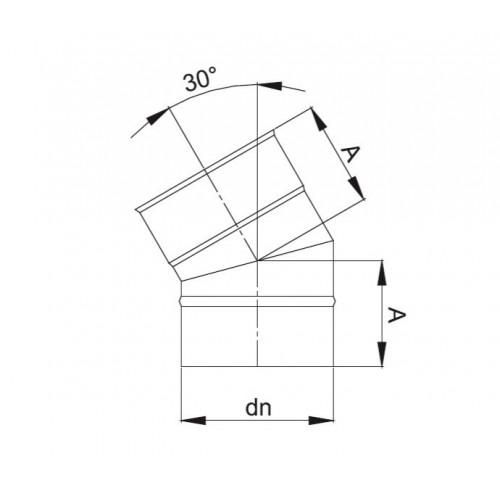 PAKIET 11.5 m KOMIN OWALNY 100x160 kwaso-żaroodporny