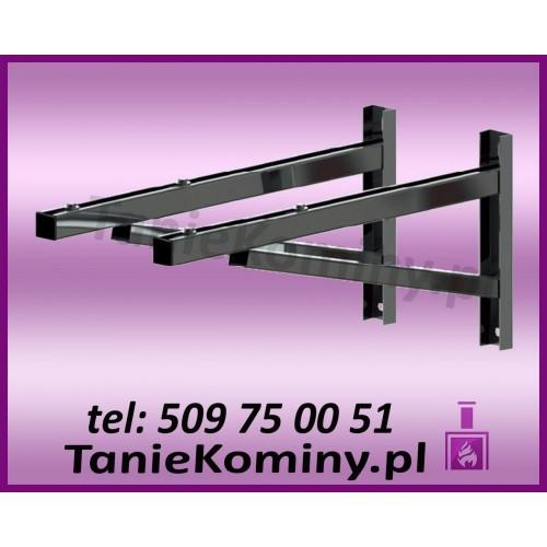 PAKIET 10 m KOMIN OWALNY 100x160 kwaso-żaroodporny