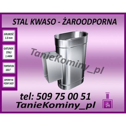 "Trójnik ""portki"" Ø 250"