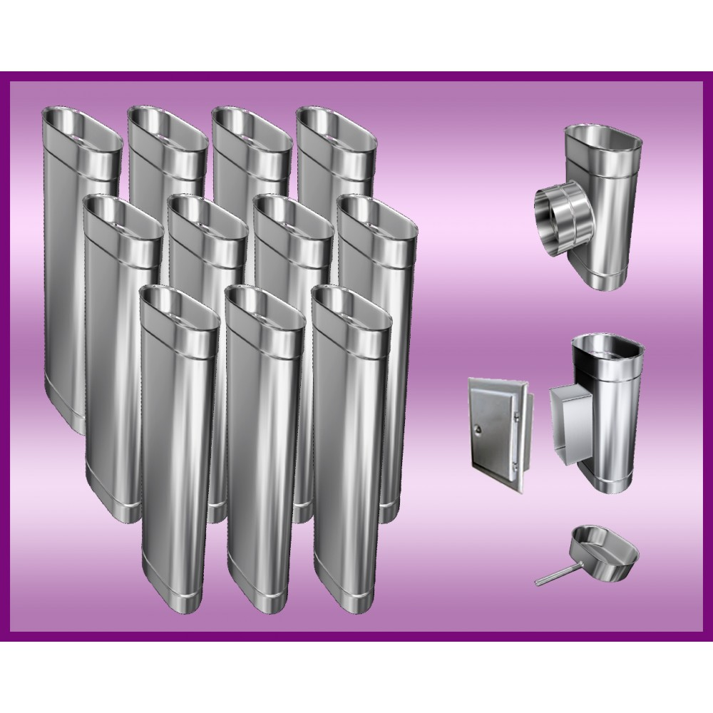 Obejma konstrukcyjna przestawna Ø120/W2 regulacja 100-200 mm