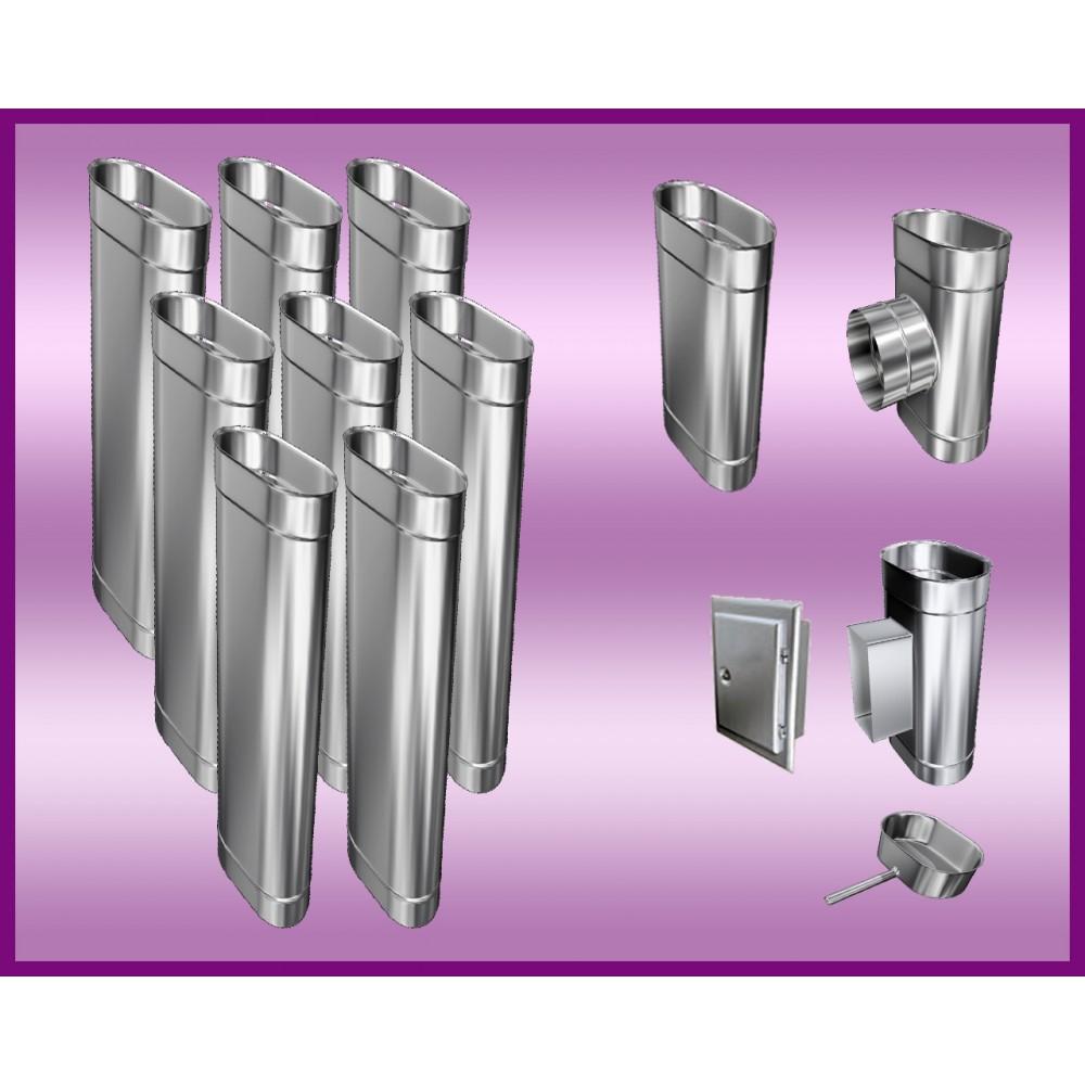 Obejma konstrukcyjna przestawna Ø80/W3 regulacja 200-350 mm