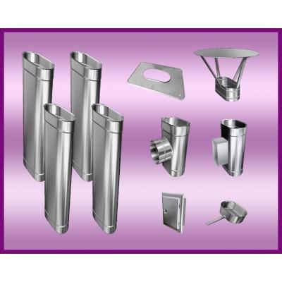 Obejma konstrukcyjna przestawna Ø120/W1 regulacja 50-120 mm