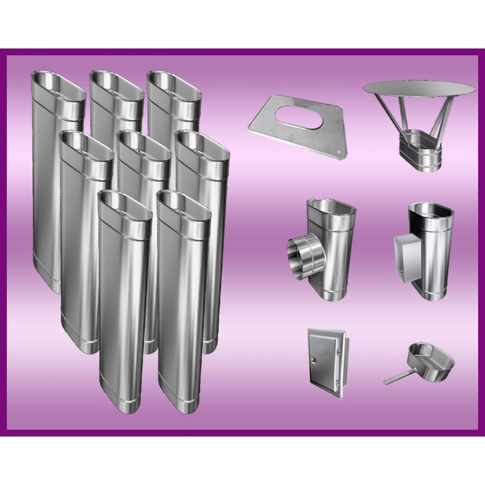 Obejma konstrukcyjna przestawna Ø150/W3 regulacja 200-350 mm