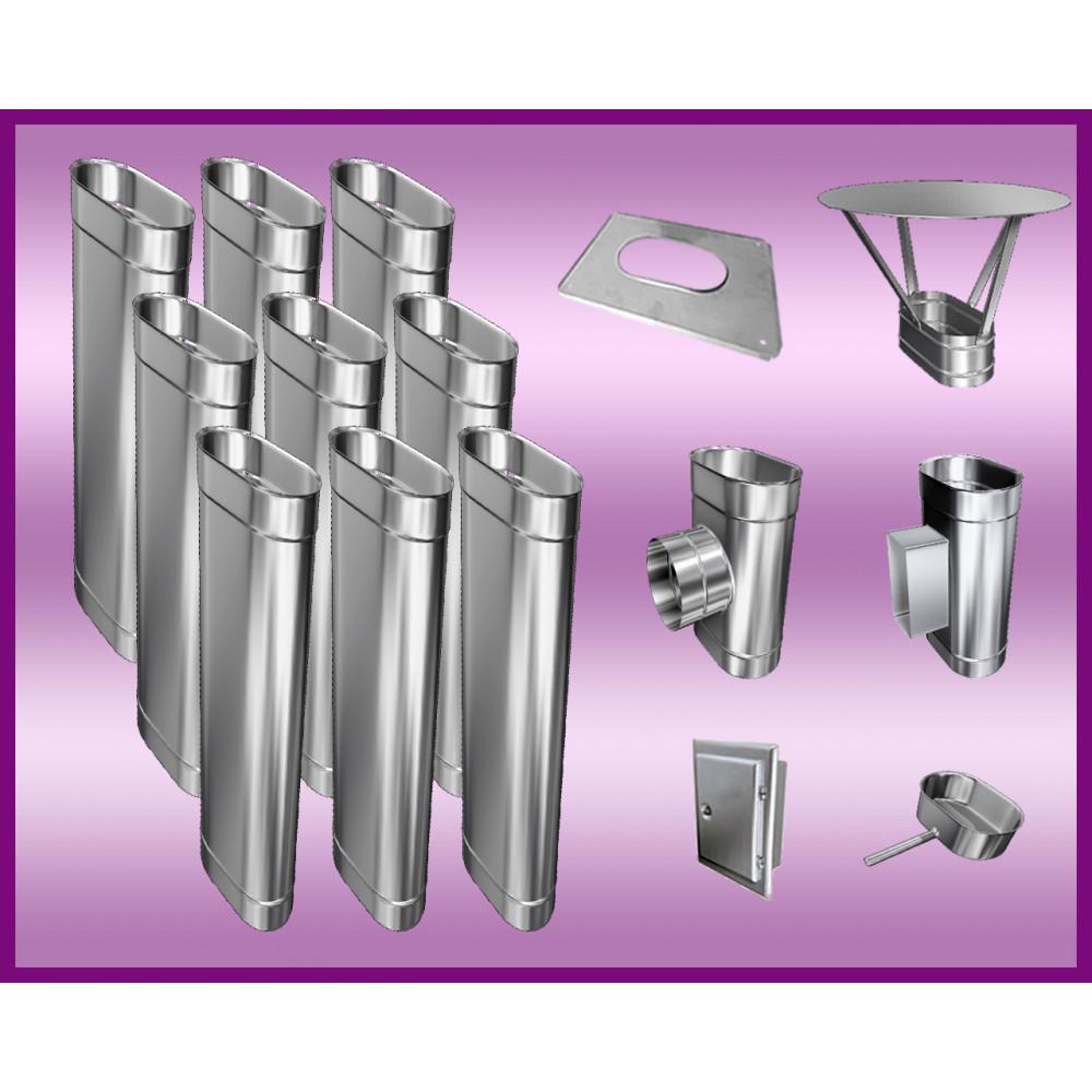 Obejma konstrukcyjna przestawna Ø120/W4 regulacja 300-550 mm