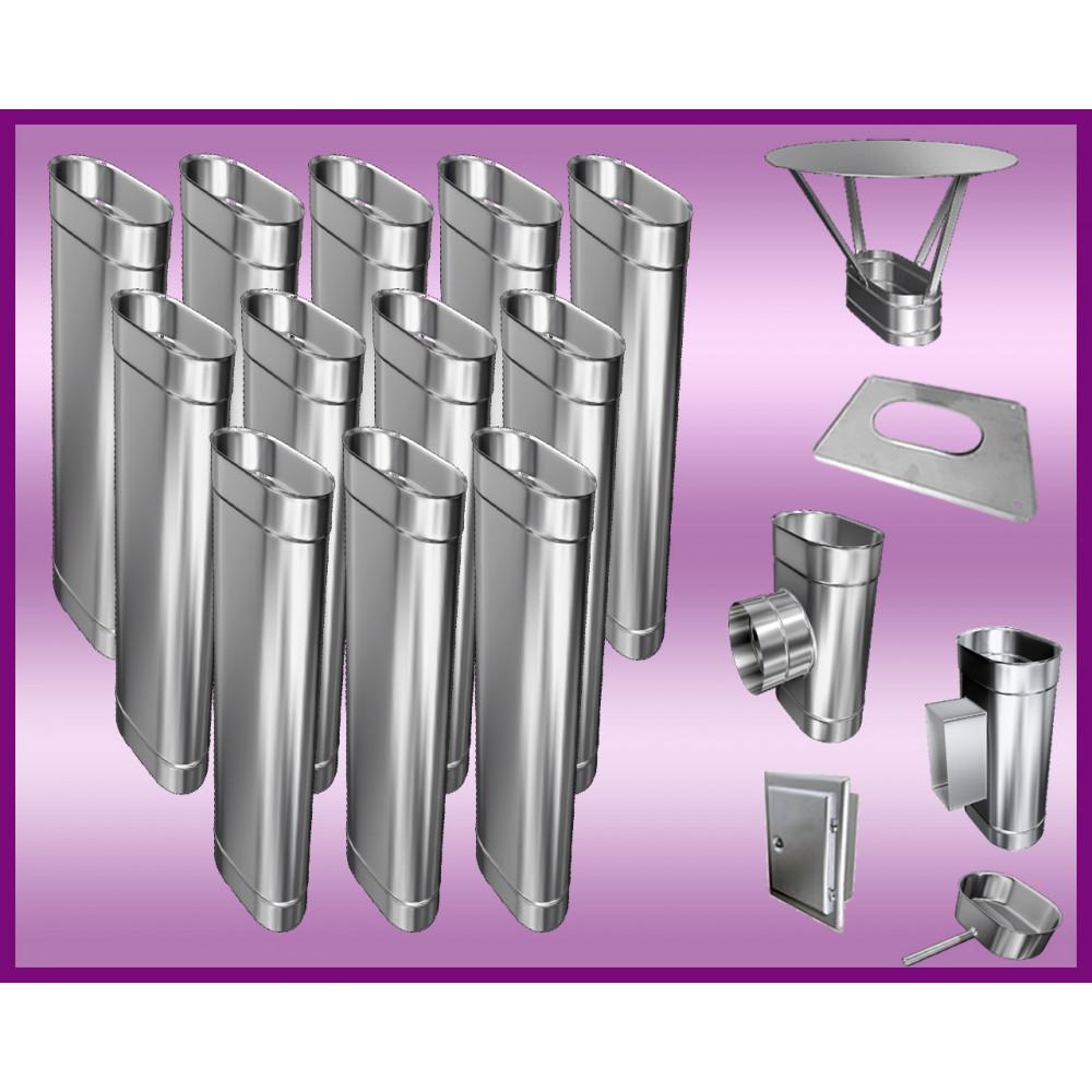 Obejma konstrukcyjna przestawna Ø130/W4 regulacja 300-550 mm