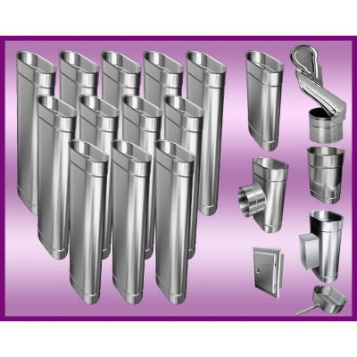 Obejma konstrukcyjna przestawna Ø225/W1 regulacja 50-120 mm