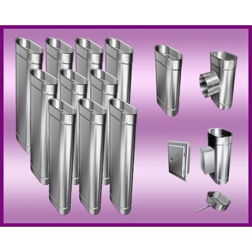 Obejma konstrukcyjna przestawna Ø350/W1 regulacja 50-120 mm