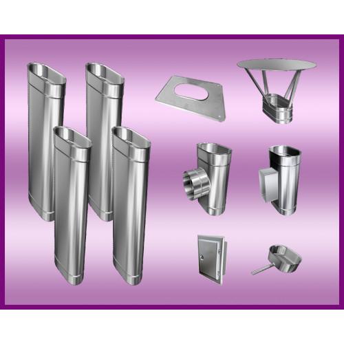 Obejma konstrukcyjna przestawna Ø400/W1 regulacja 50-120 mm