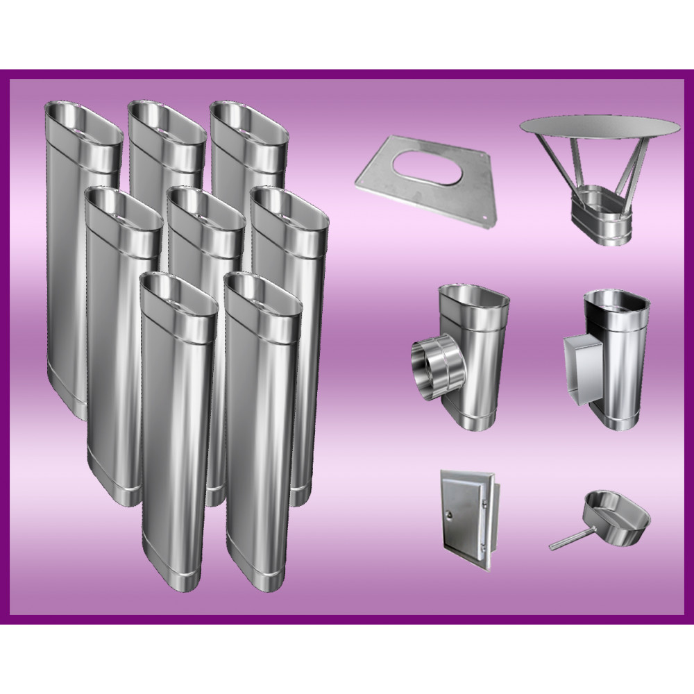 Obejma konstrukcyjna przestawna Ø450/W4 regulacja 300-550 mm