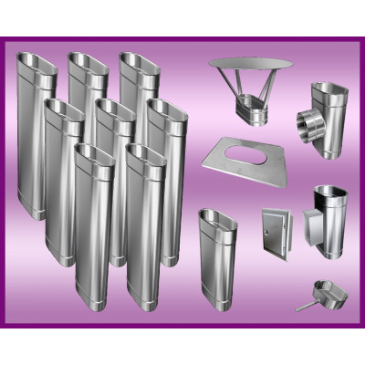 Obejma konstrukcyjna przestawna Ø450/W1 regulacja 50-120 mm