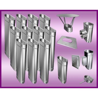 Obejma konstrukcyjna przestawna Ø500/W1 regulacja 50-120 mm