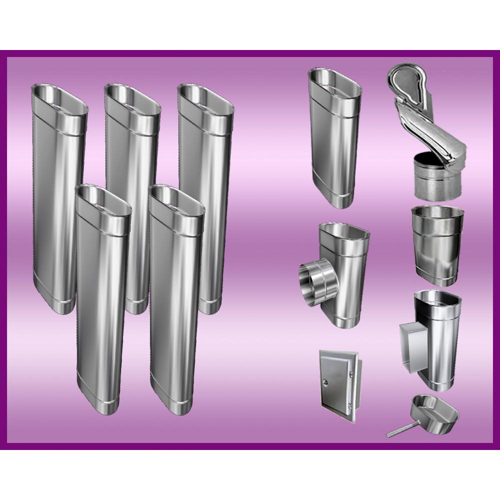 Obejma konstrukcyjna przestawna Ø80/W5 regulacja 550-750 mm