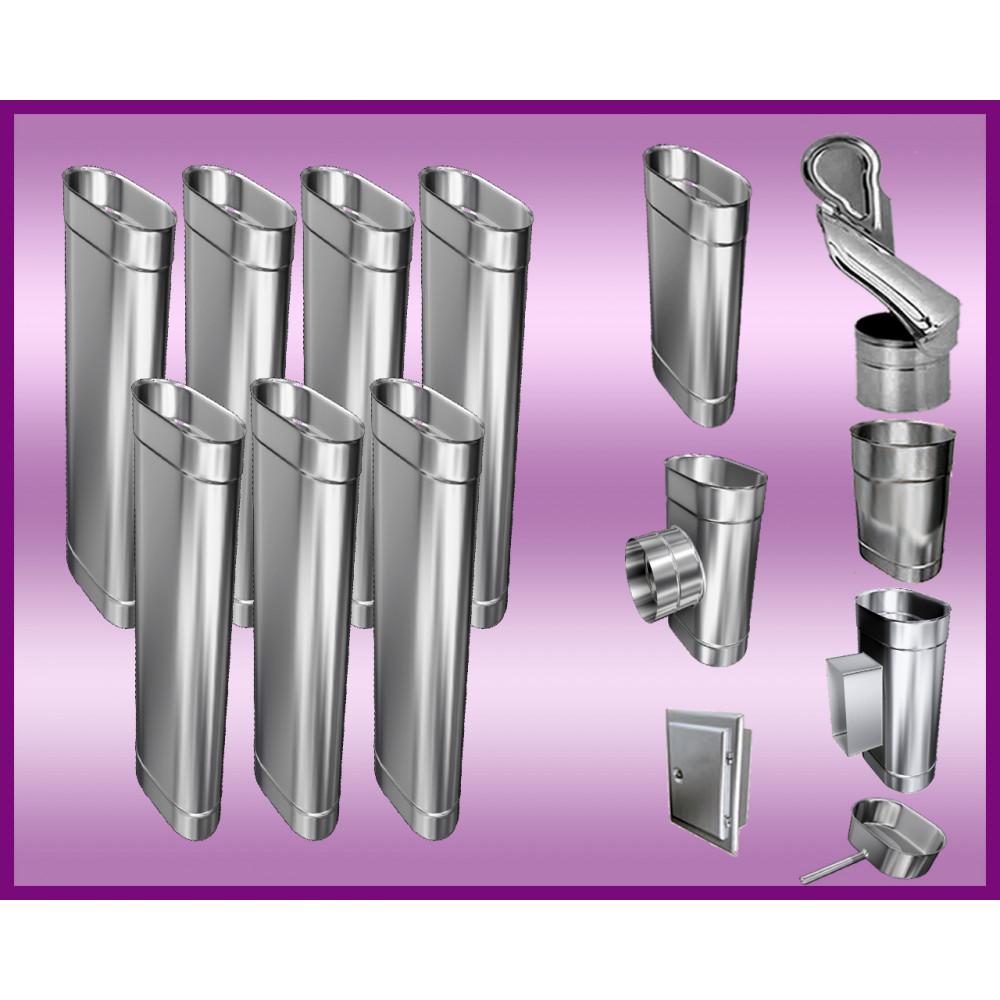 Obejma konstrukcyjna przestawna Ø120/W5 regulacja 550-750 mm