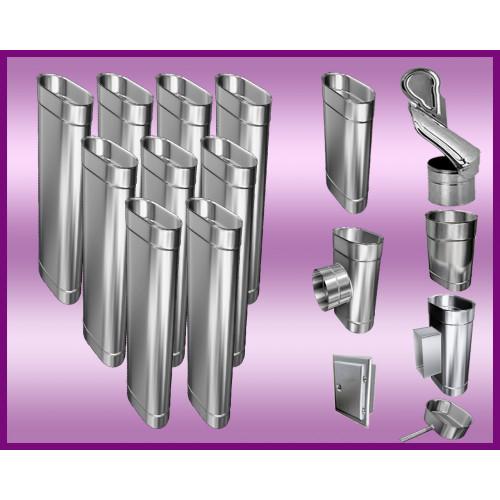 Obejma konstrukcyjna przestawna Ø140/W5 regulacja 550-750 mm