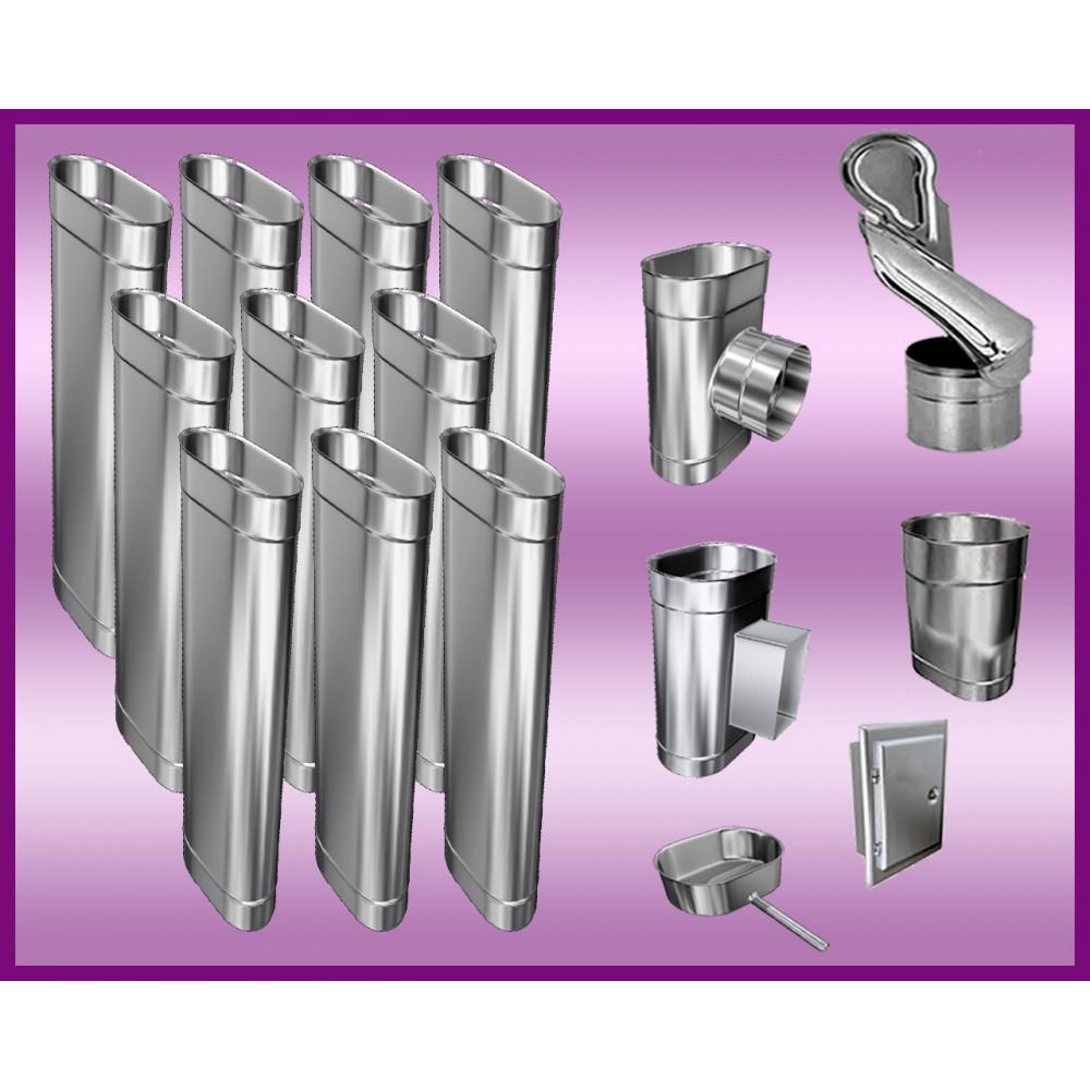 Obejma konstrukcyjna przestawna Ø150/W5 regulacja 550-750 mm