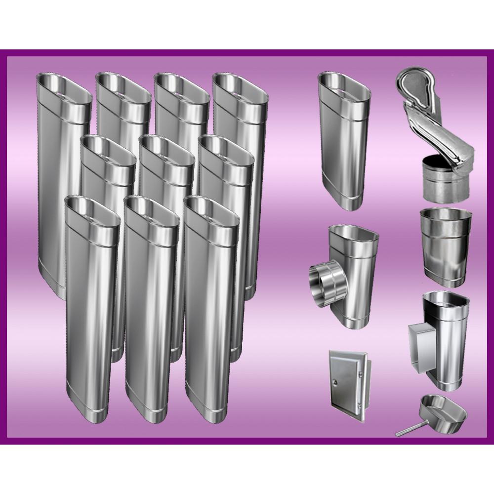 Obejma konstrukcyjna przestawna Ø160/W5 regulacja 550-750 mm