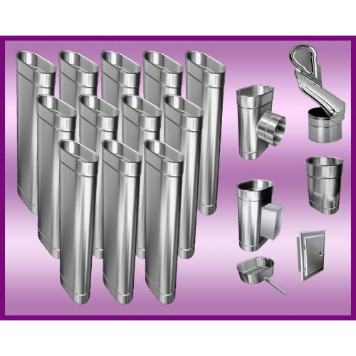 Obejma konstrukcyjna przestawna Ø200/W4 regulacja 300-550 mm