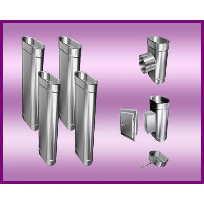 Obejma konstrukcyjna przestawna Ø225/W4 regulacja 300-550 mm