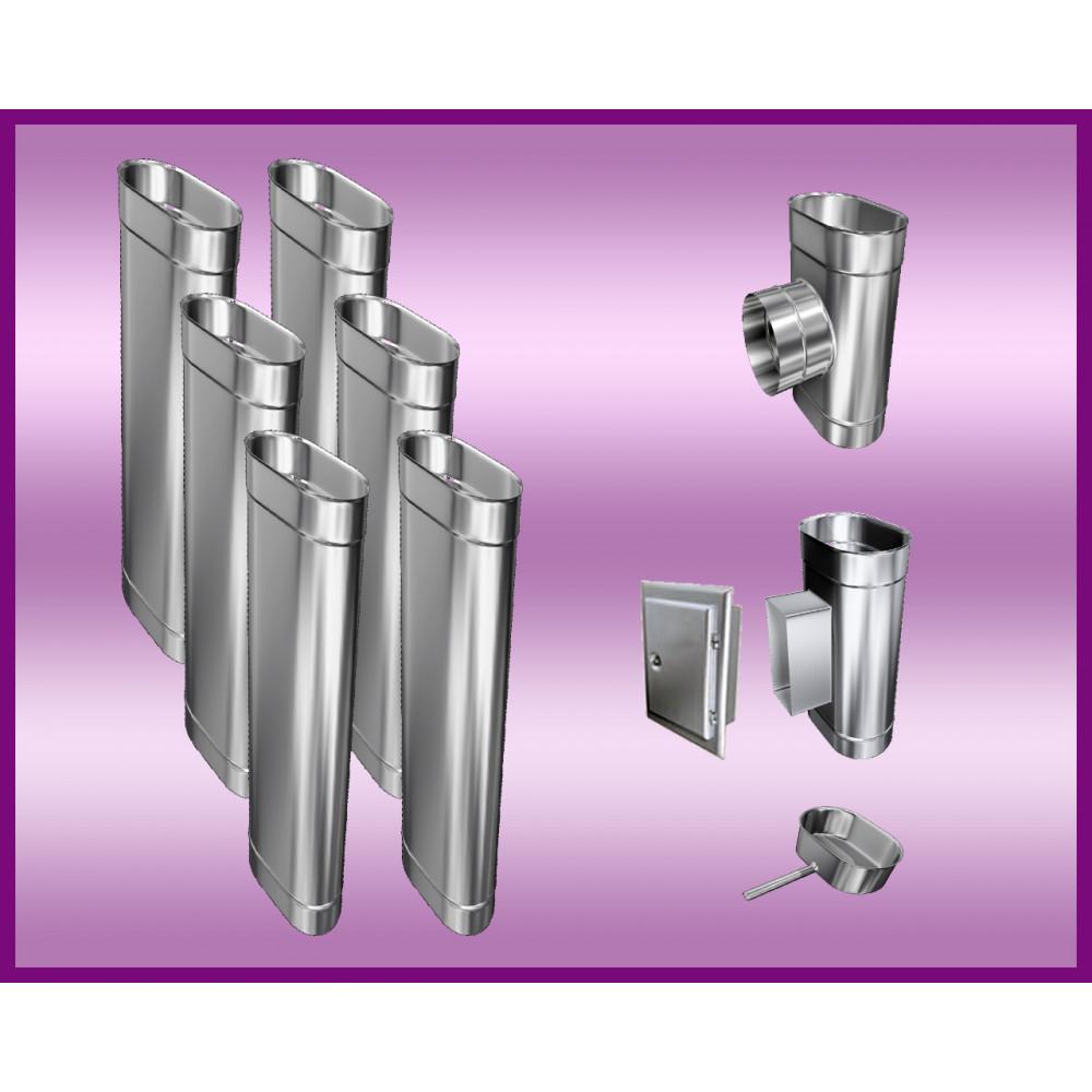 Obejma konstrukcyjna przestawna Ø300/W5 regulacja 550-750 mm