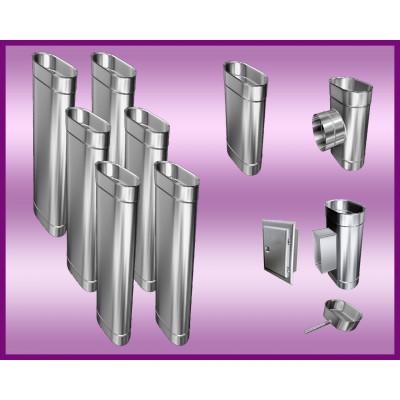 Obejma konstrukcyjna przestawna Ø300/W4 regulacja 300-550 mm