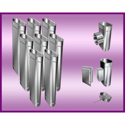 Obejma konstrukcyjna przestawna Ø350/W4 regulacja 300-550 mm