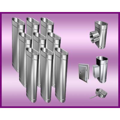Obejma konstrukcyjna przestawna Ø400/W4 regulacja 300-550 mm