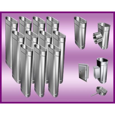 Obejma konstrukcyjna przestawna Ø500/W4 regulacja 300-550 mm