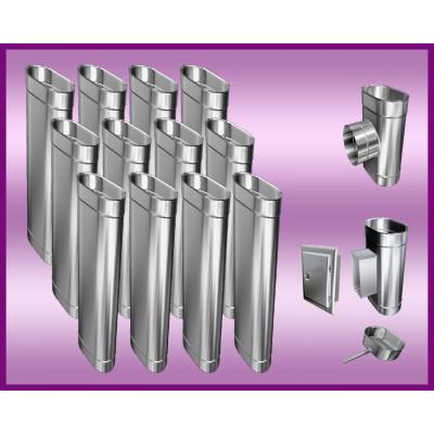 Obejma konstrukcyjna przestawna Ø450/W5 regulacja 550-750 mm