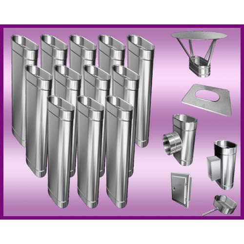 DRZWICZKI KOMINOWE NIERDZEWNE 250X250 mm (WYMIAR ZEWNĘTRZNY RAMKI)