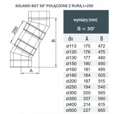 Wkład kominkowy wodny Standard Prosty - 15kW UZ