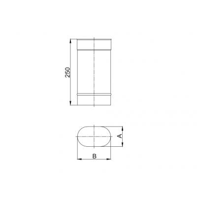 Obejma spinająca wąska KBT Ø 500 RURY IZOLOWANEJ (RDZEŃ Ø 500 / PŁASZCZ Ø 560)