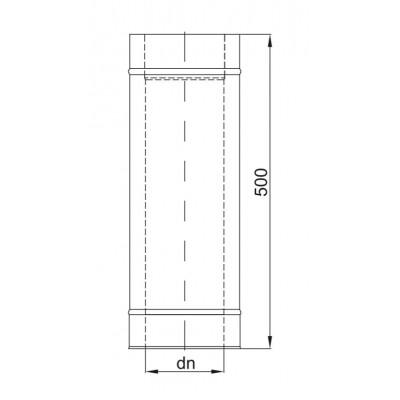 Wkład kominkowy wodny Standard Prosty - 12kW UO