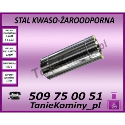Wkład kominkowy powietrzny Standard Prosty - 14kW