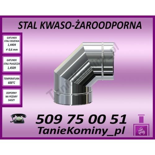 Czerpnia powietrza pionowa Turbo fi 80-125
