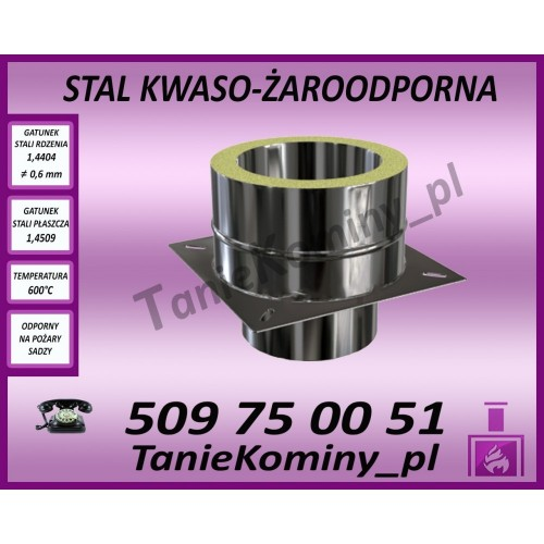 Kolano Turbo fi 60-100 / 45°
