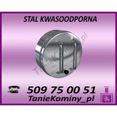 Daszek przeciwwietrzny izolowany  fi 130/190 Dinak