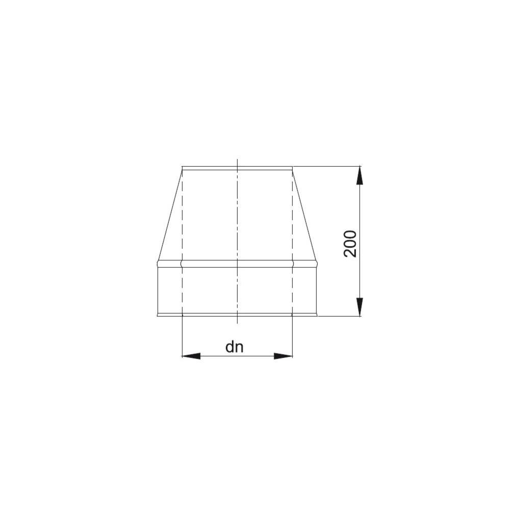 Obejma izolowana  fi 130/190 Dinak