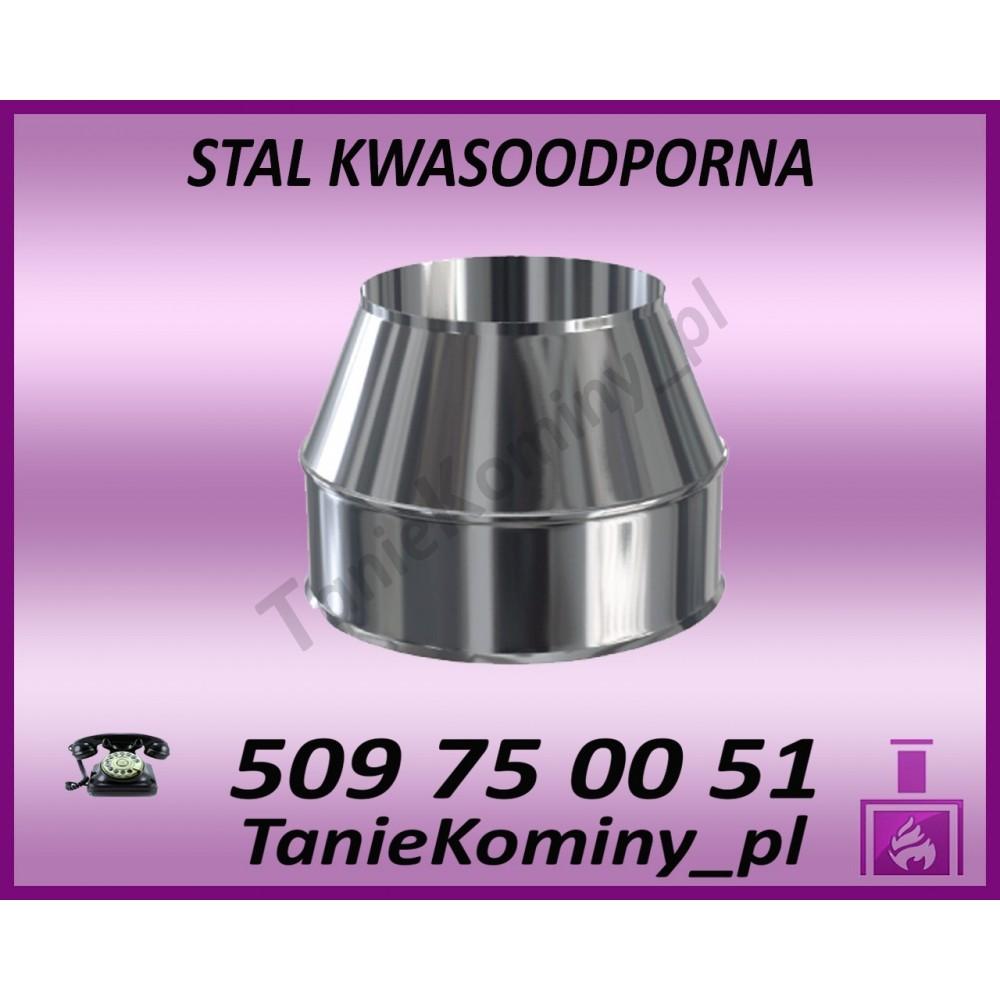 Obejma murowa regulowana 100-250mm izolowana  fi 130/190 Dinak