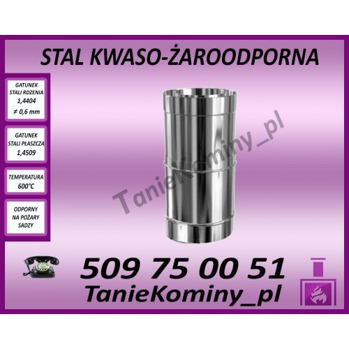 Obejma murowa regulowana 250-430mm izolowana  fi 130/190 Dinak