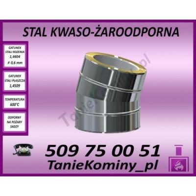 Przejście dachowe 5-30 stopni izolowane fi 200/260 Dinak