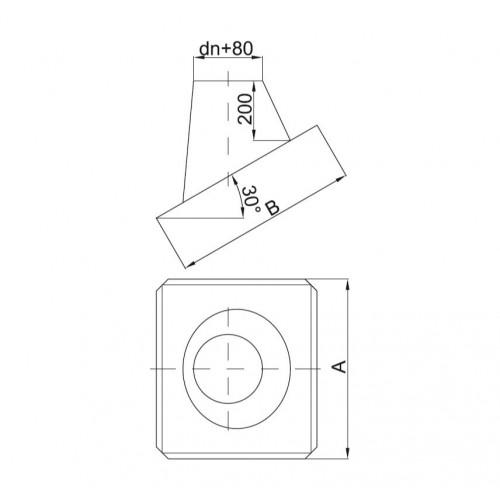 Giętki przewód spalinowy 130mm 1.5mb