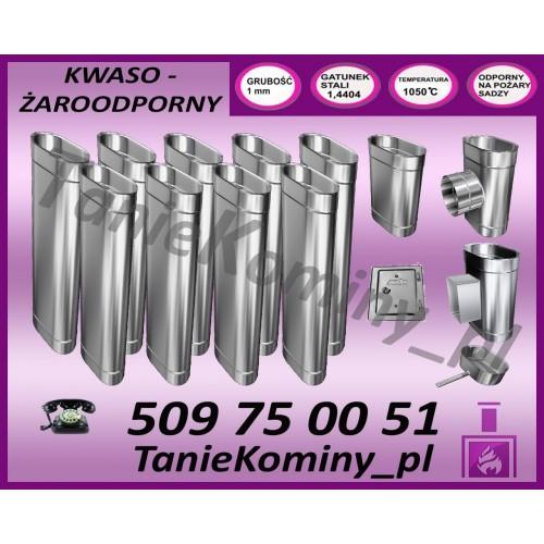 ELASTYCZNA RURA STALFLEX KWASOODPORNA FI 80 1MB - SPIRO