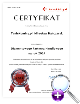 certyfikat kratka