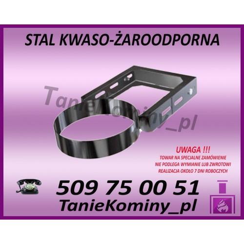 Obejma konstrukcyjna przestawna Ø200/W1 regulacja 50-120 mm
