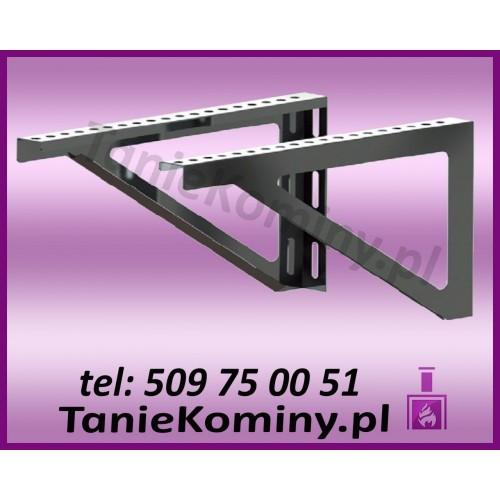 Wsporniki trójkątne do komina dwuściennego WSP-G L500 Ø 120 (komplet 2 szt.)
