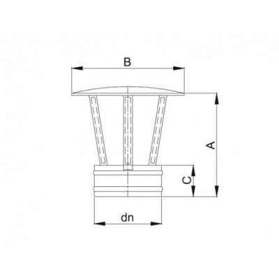 Parasol - daszek Ø 140