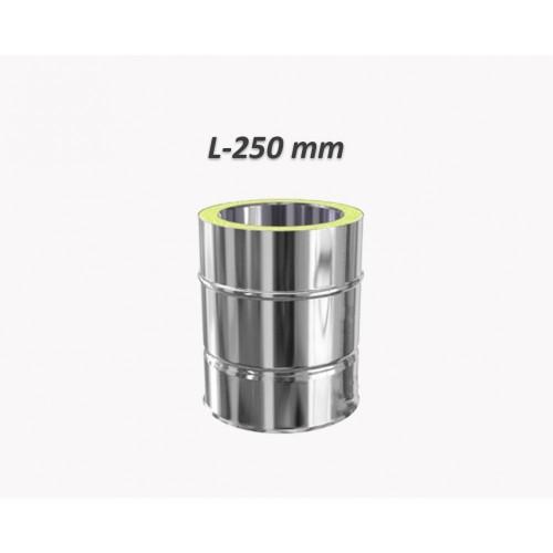 Rura dwuścienna Ø 140 L - 250 mm
