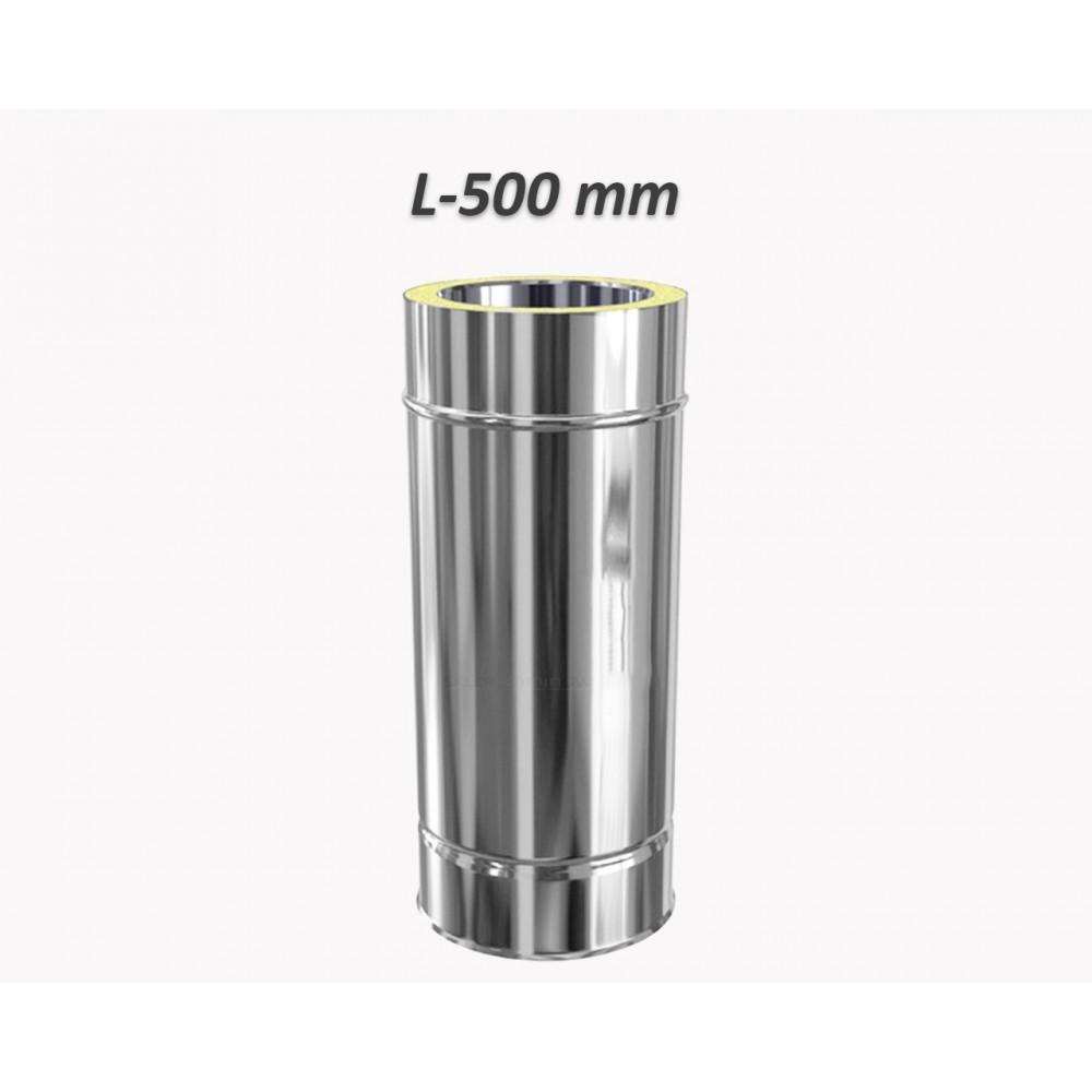 Rura dwuścienna Ø 113 L - 500 mm